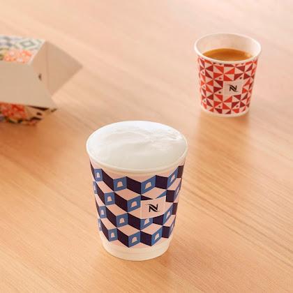 Um café e uma nata! Só com a Nespresso.