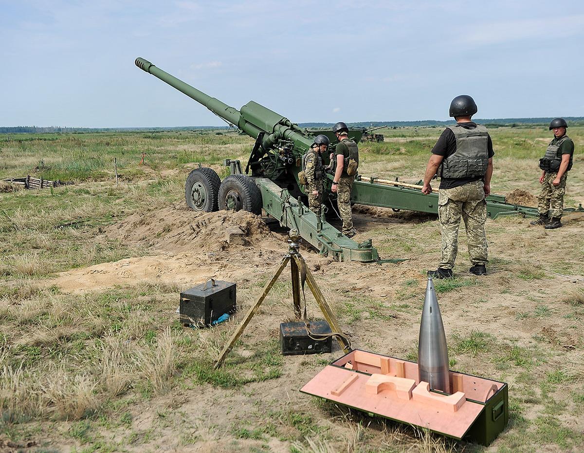 Українські 152-мм снаряди до артсистеми «Гіацинт»