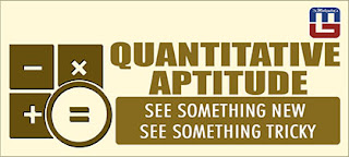 QUANTITATIVE APTITUDE QUESTIONS FOR SBI PO | 18 - MAR - 17