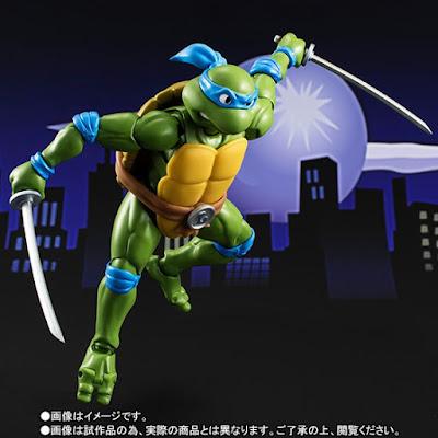 Leonardo e Donatello per la linea SH Figuarts