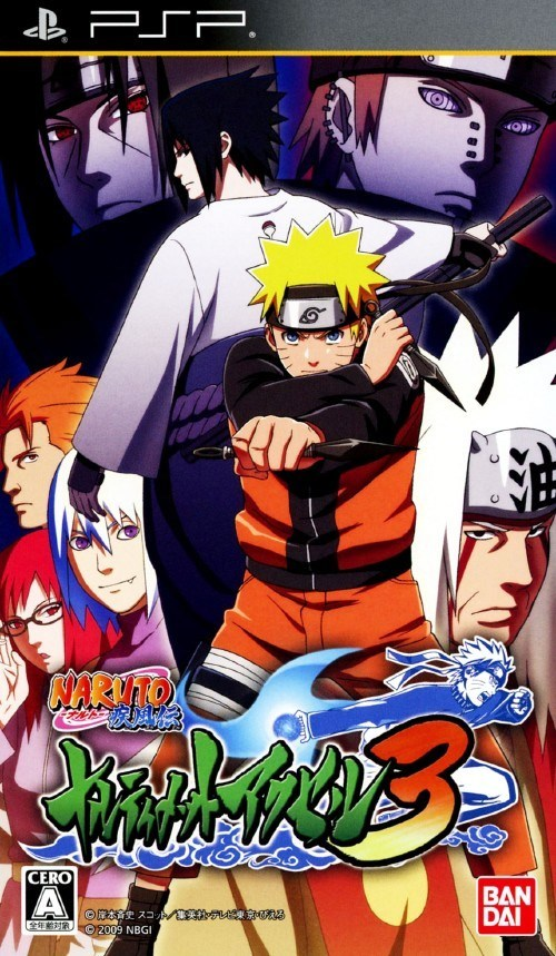 Naruto Shippuden Ultimate Ninja Accel 3 High Compress (30mb)