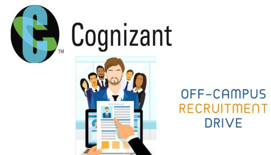 Cognizant Off-Campus Drive 2018-2019