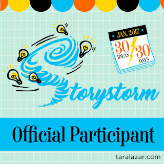 I'm an official participant of #STORYSTORM 2017
