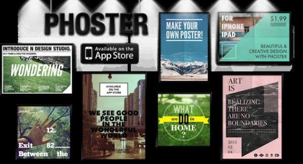 Best Poster making apps for iPhone and iPad