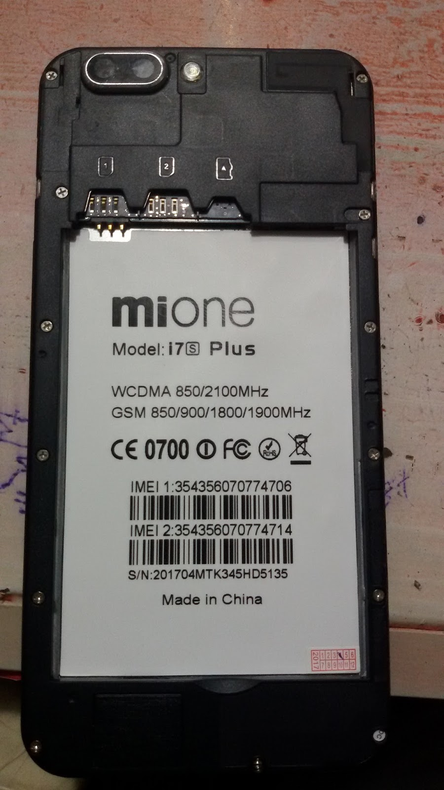 Gsm Feni All Kinds Of Flash File Here !!!: Mione i7 Plus