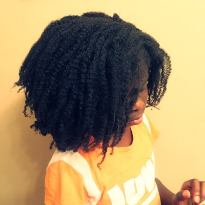 How to Detangle Mini Twists and NATURAL HAIR LENGTH CHECK TIME