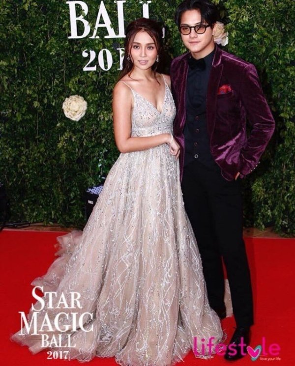 Photos: Kathryn Bernardo and Daniel Padilla at the 2017 Star Magic Ball