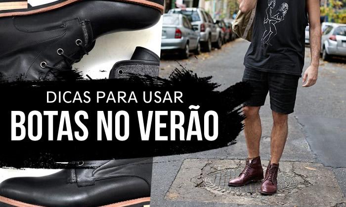 Dicas para usar botas no verão