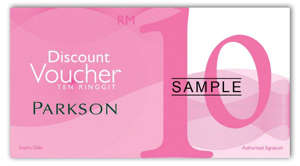 Parkson Free RM 10 Discount Voucher Promotion 24 26 May 2013 @ Storewide  Free Discount Vouchers