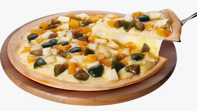 Recheio para Pizza à Califórnia (Imagem: Reprodução/Polonesa Tijucas Pizzaria)