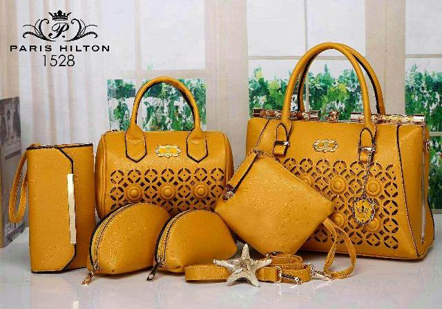 Paris Hilton Arista 6 in 1 Taiga leather (1528)