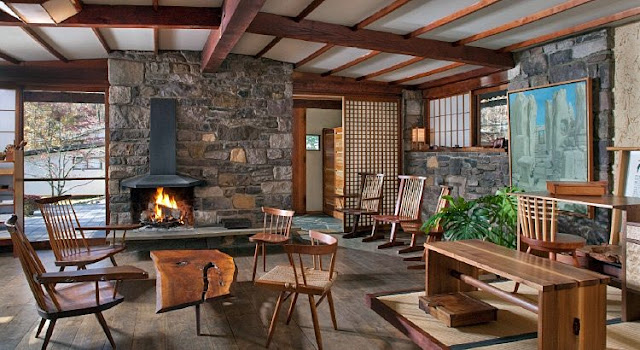 George Nakashima's House and Studio New Hope Pennsylvania