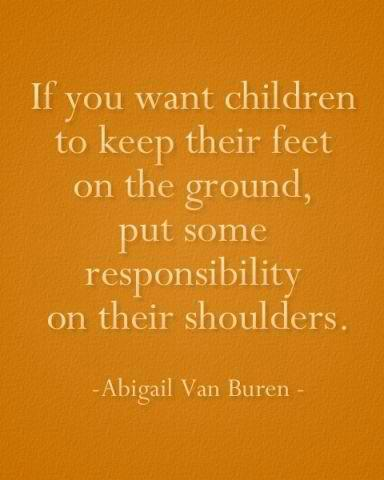 life inspiration quotes: Responsibility for children quote