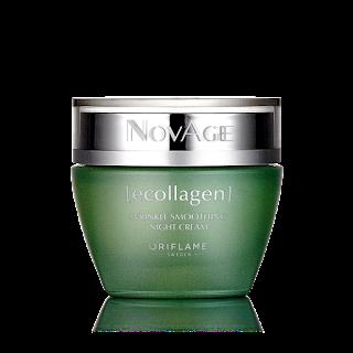 Αντιρυτιδική Κρέμα Νύχτας NovAge Ecollagen 50ml Κωδικός 31545  Δίνει Bonus Points 45