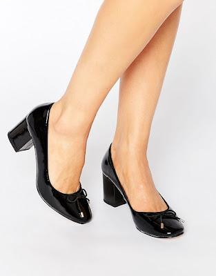 zapatos negros para vestido de novia