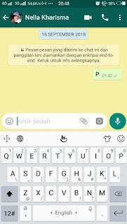 Cara menulis pesan di whatsapp tanpa perlu mengetik