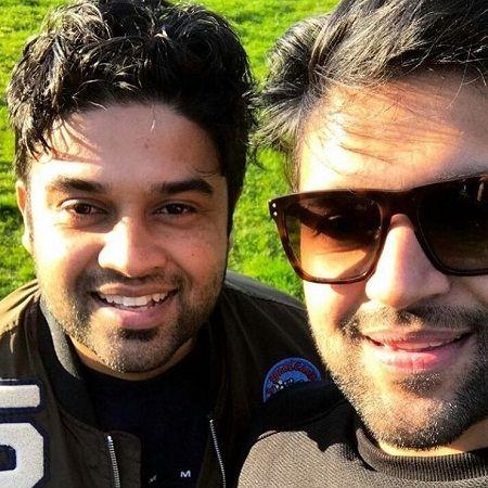 Guru Randhawa with brother