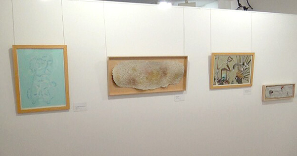 """Exposición """"Arte para el recuerdo"""" Foto: Radio Huesca"""