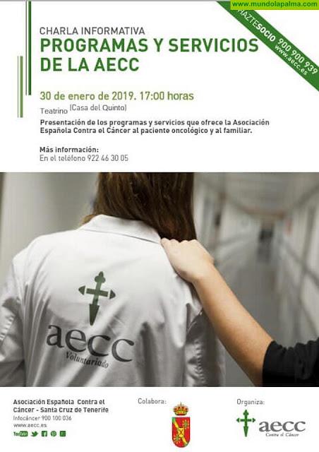 Charla informativa: Programas y Servicios de la AECC