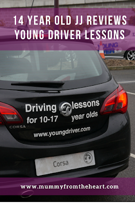 Young driver lessons are available all over the UK for 10 - 17 year olds. Check out our review when my 14 year old son tried a 60 minute one out at Bluewater, Kent