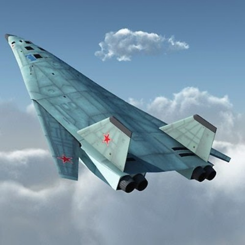 Ilustrasi bomber PAK DA Rusia