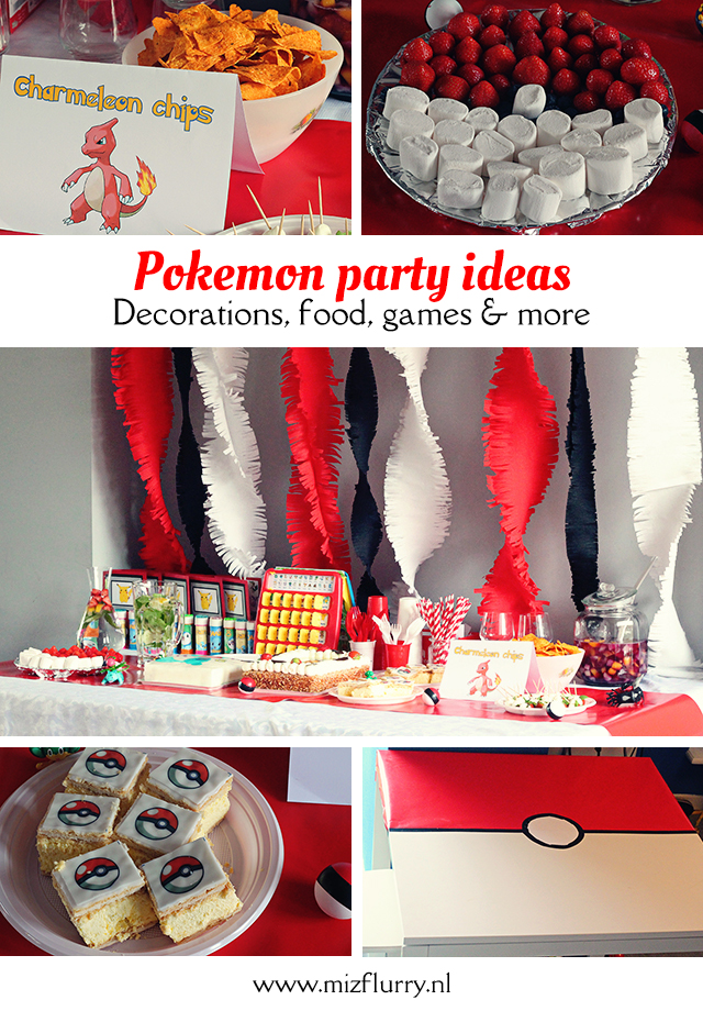 pokemon party ideas pinterest