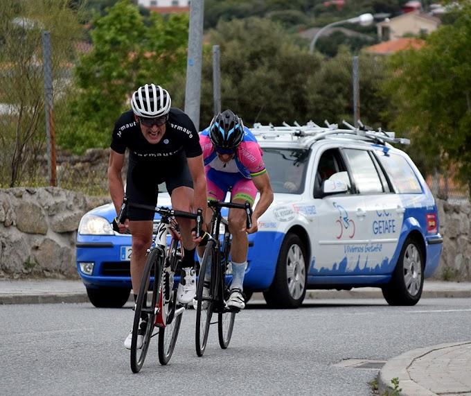 Gran triunfo de Caravias en el Gran Premio de Ciclismo de El Escorial