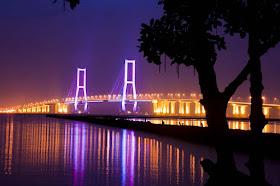 Ke Jembatan Suramadu Surabaya~Jatim