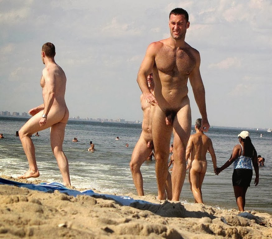 Naked at the beach pics