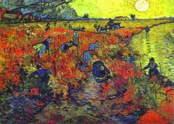 Винсент Ван Гог «Красные виноградники»