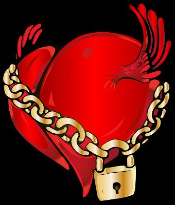 Você tem as chaves do seu coração e você quem decide quem tem acesso ao seu íntimo