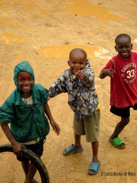 Niños Lamu Kenia