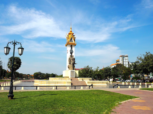 Friendship monument in Phnom Penh, Cambodia