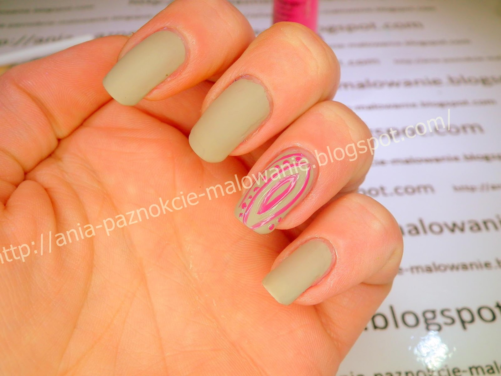 golden rose matte
