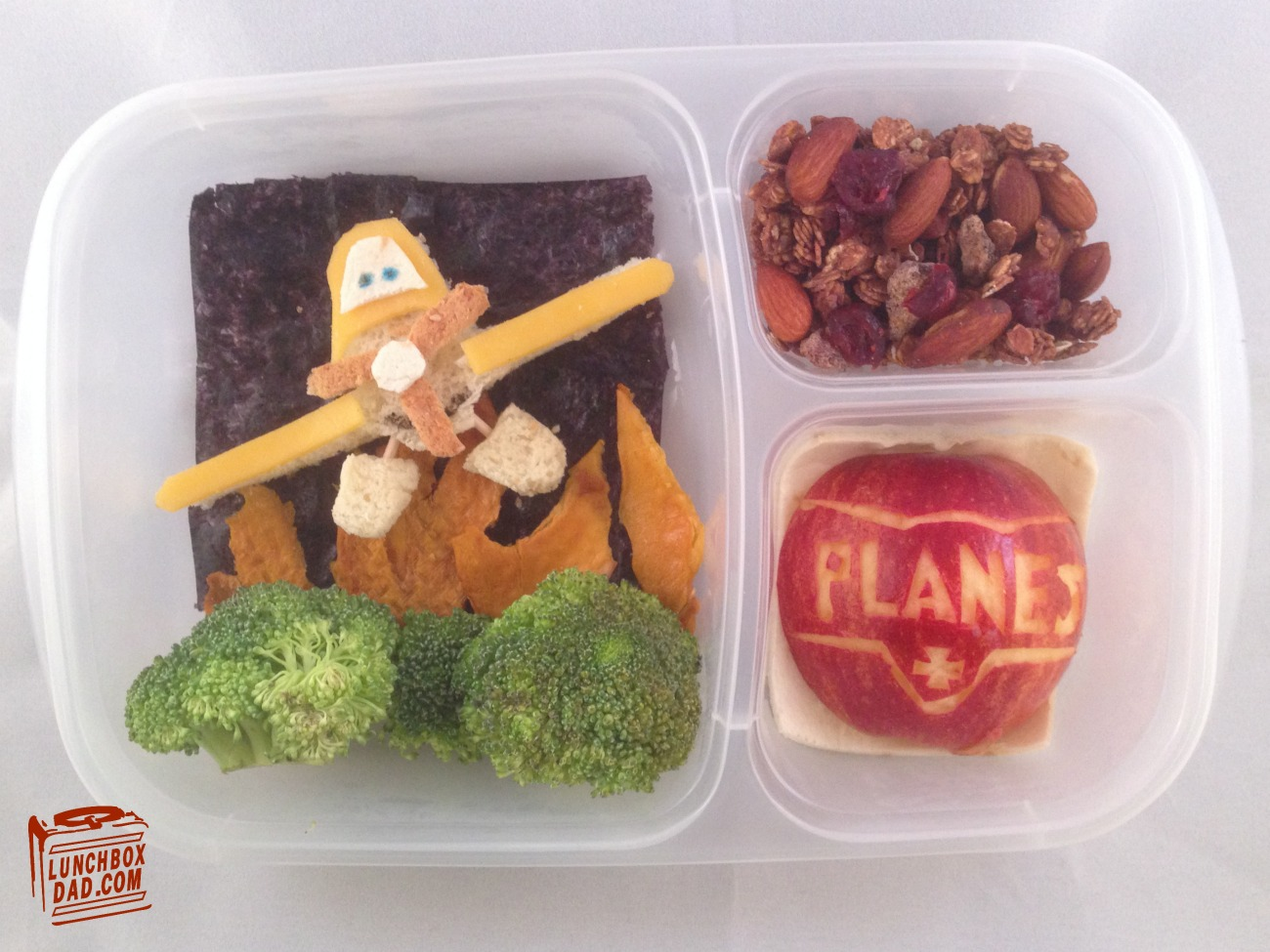 Disney Planes Fire and Rescue Lunch Recipe