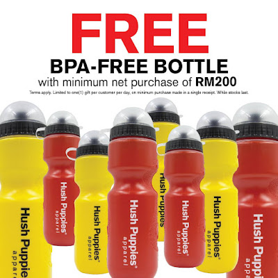 Free BPA-Free Hush Puppies Bottle with Purchase