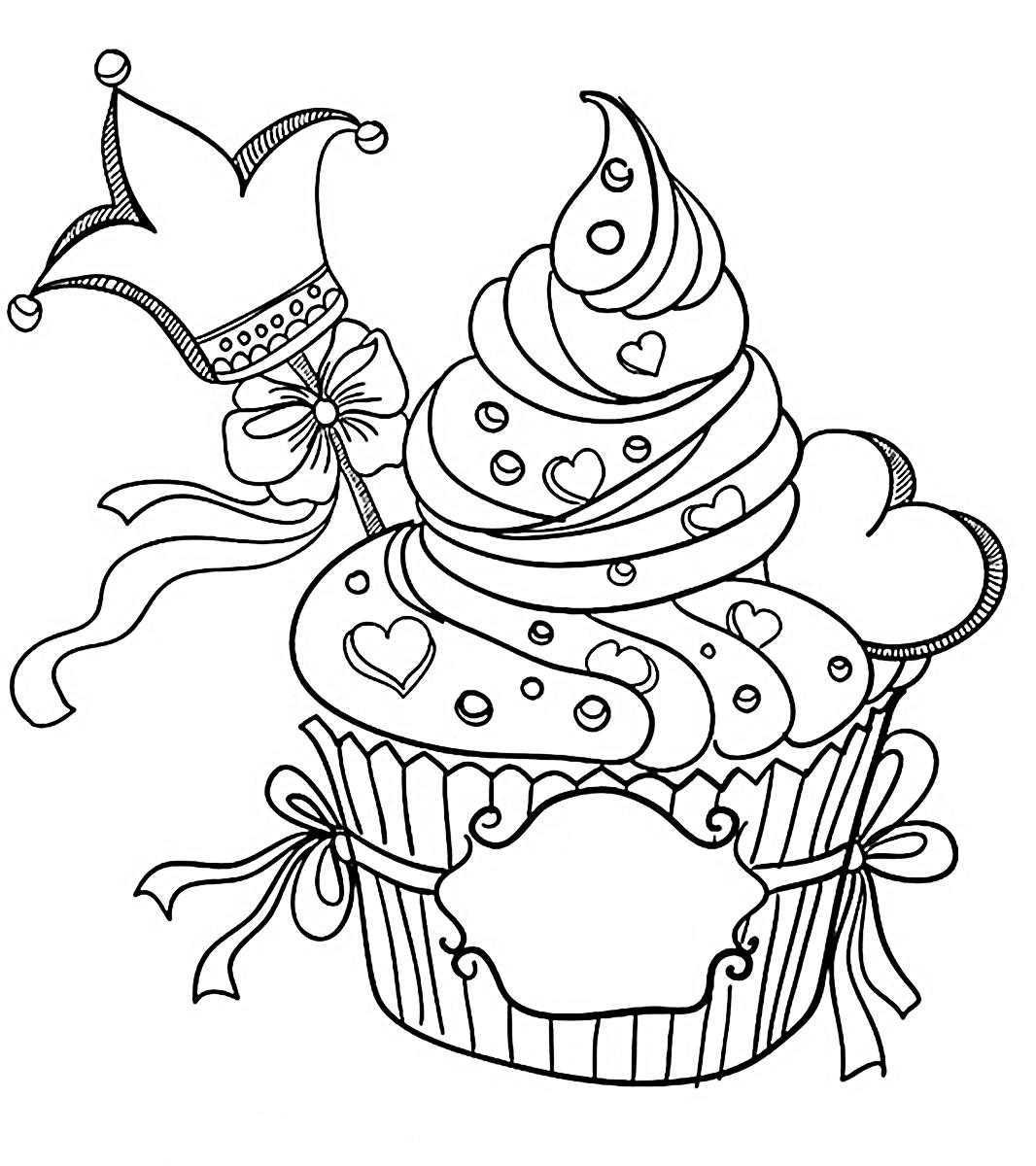 riscos graciosos  cute drawings   cupcakes  sorvetes e bolos  cupcakes  ice creams and cakes