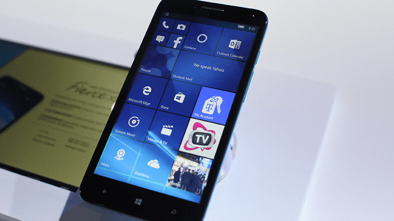 One Touch Fierce XL Announced! The First Windows 10 Phone Of Alcatel
