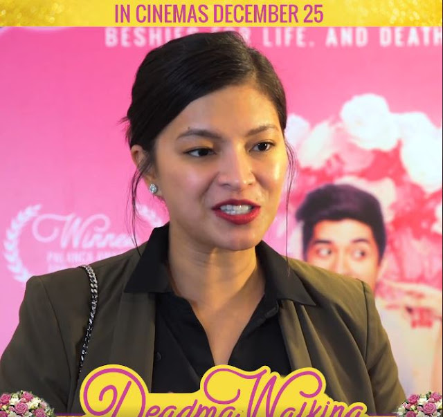 Angel Locsin Does a Movie Review on MMFF Entry Deadma Walking