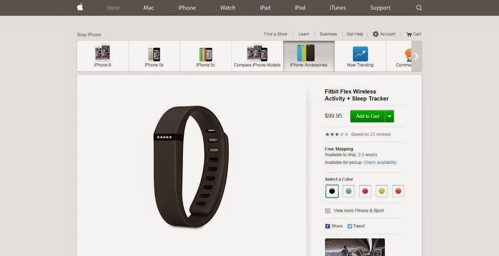 為Apple Watch鋪路,傳蘋果商店將下架Fitbit產品