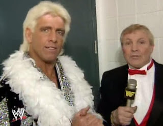 WWF ROYAL RUMBLE 1992 - The Nature Boy Ric Flair talks to Lord Alfred Hayes