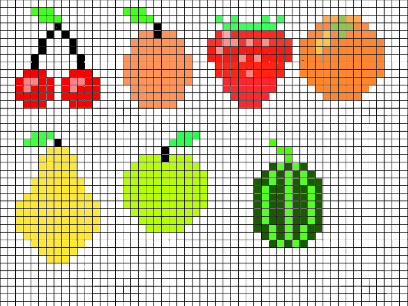 Dessin Pixel Ecosia
