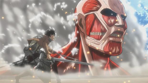 Ataque de Titãs Shingeki no Kyojin