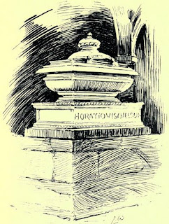 Horatio Nelson's tomb from Memorials of St Paul's Cathedral by WM Sinclair (1909)