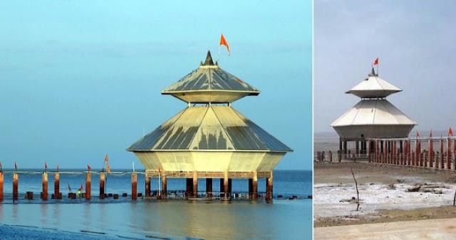दिन में दो बार दर्शन देकर समुद्र में डूब जाता है ये मंदिर, आज भी मांगता है अपने किये की माफी