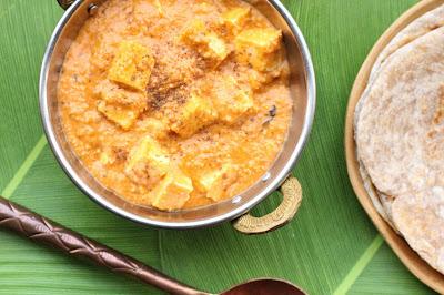 paneer en sauce indienne