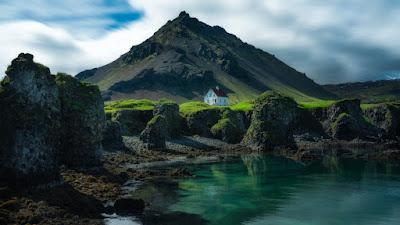 Pequeña villa en la península de Snaefellsness