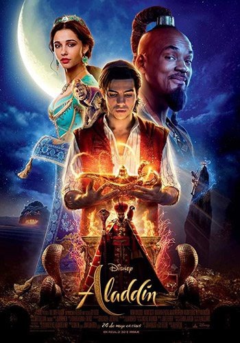 Aladdin 2019 Dual Audio Hindi BluRay 480p 400MB ESubs poster
