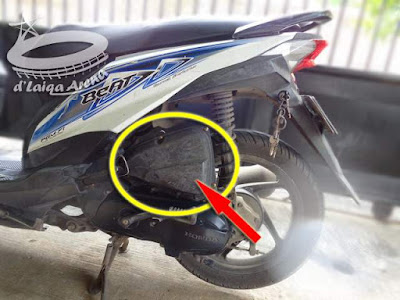 Saringan (Filter) Udara Honda Beat FI