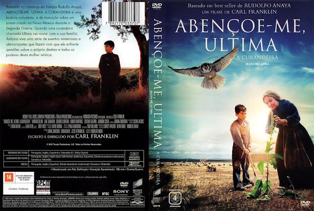 Capa DVD Abençoe-me Ultima - A Curandeira